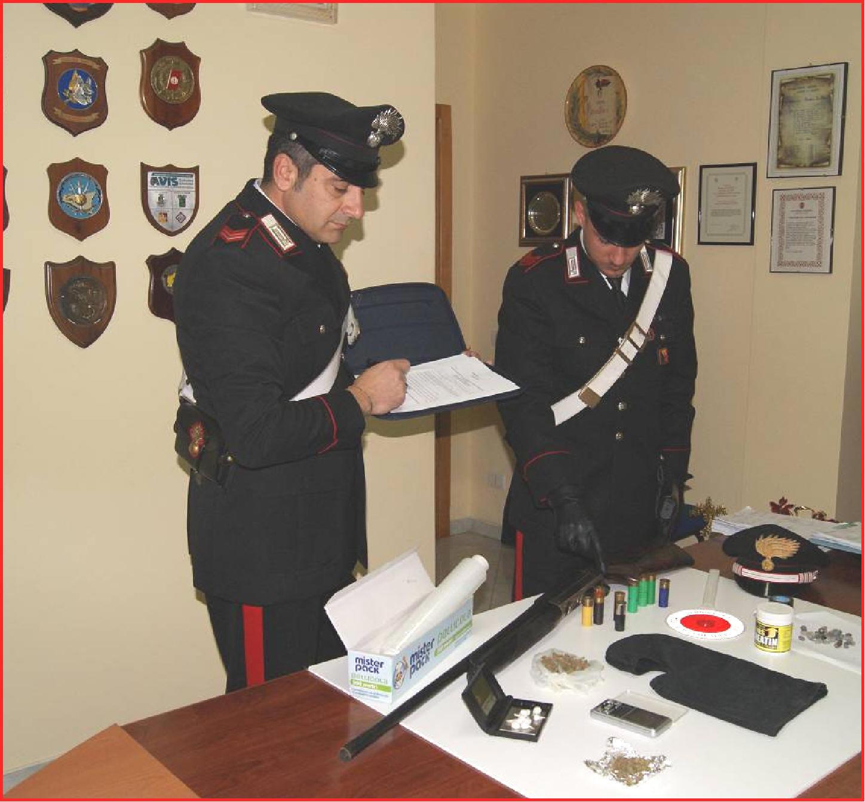 Pachino SR – CC trovano 1 fucile rubato e droga 58e4824994b